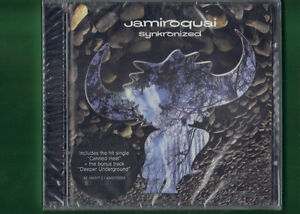 JAMIROQUAI-SYNKRONIZED-CD-NUOVO-SIGILLATO