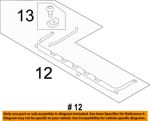 PORSCHE OEM 11-16 Cayenne-Sunroof Wind Air Deflector 95856465100