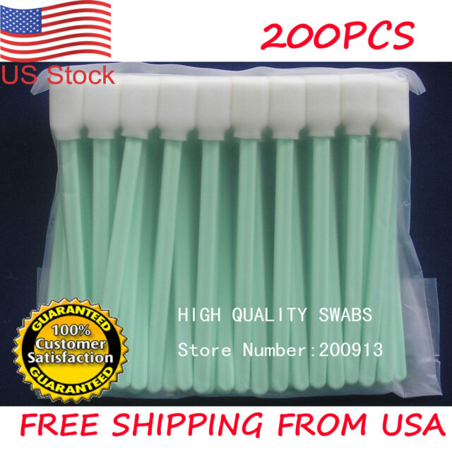 10PCS Solvent Cleaning Swab swabs for Large Format Roland Mimaki Mutoh Printers