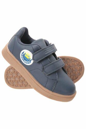 Mountain Warehouse Kid  Explorer Junior Riptape Shoe In Navy UK 12 Kids