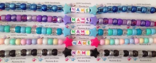 Personalised dummy clip for boys or girls choose your colour buy 2 get 1 free