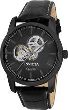 Invicta Objet D Art Automatic Grey Skeleton Dial Mens Watch 22619