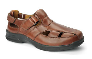 Oasis Roland Men's Leather Fisherman Sandal - New in Box