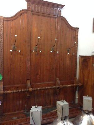 Antiques Furniture Persevering Attaccapanni Anni '50 Da Muro