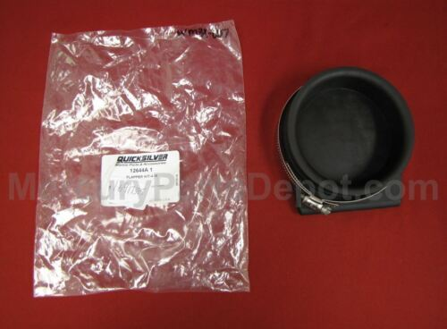 4 Inch Part # 12644A1 Mercury Exhaust Flapper Kit New