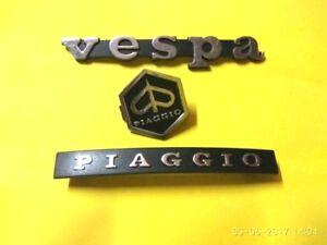 VESPA-PIAGGIO-PX-LML-LEGSHEILD-HEXAGON-HORNCAST-DECAL-BADGE-MONOGRAM-LOGO