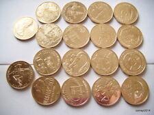 Promotion. Poland 2 ZL Complete Set 18 Coins 2009 NG