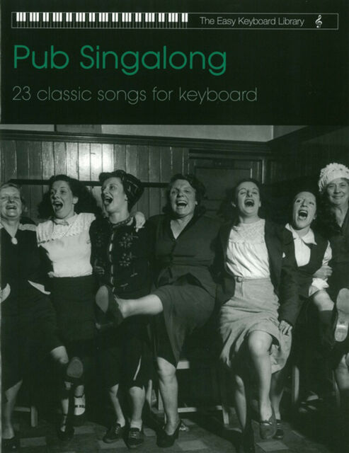Pub Songs For Easy Keyboard Sheet Music Book Tunes Songbook Singalong Sing Along