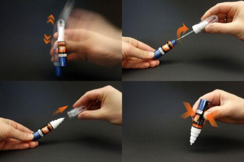 Retocar Pintura KIA D2A Kit de pluma Perla dm Techno Naranja Cepillo