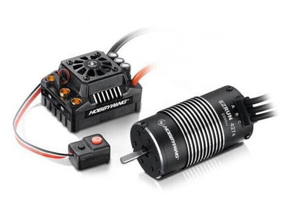 HOBBYWING COMBO EZcorrere MAX8 ESC (TRX PLUG) 4268-2600KV MOTOR   HW38010403  outlet in vendita