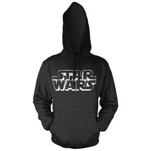 Official-Star-Wars-Written-Logo-Hoodie-Hooded-Top-Black-Sweater-Distressed