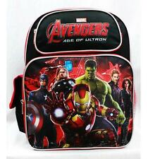 "NWT Avengers 14"" Medium Backpack School Bag Hulk, Ironman, Thor, Captain America"