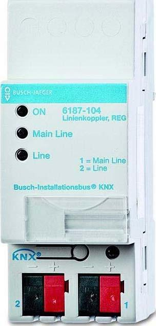Busch-Jaeger Linienkoppler 6187-104 (1er)