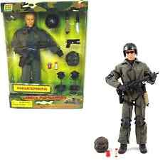 World Peacekeepers 12in Poseable Army Action Figure Parajumper 3+Yrs