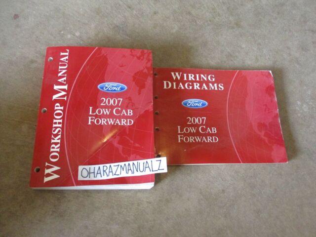 2007 Ford Low Cab Forward Wiring Diagrams  U0026 Service