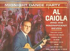 AL CAIOLA & HIS MAGNIFICENT SEVEN: Midnight Dance Party guitar LP GRETSCH COVER!