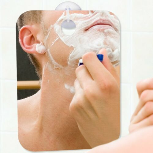 Fogless Shower Mirror for Shaving Large Size with Suction Hook and Adhesive Hook