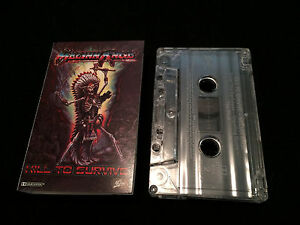 MELIAH-RAGE-KILL-TO-SURVIVE-AUSTRALIAN-CASSETTE-TAPE