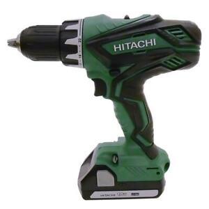 Hitachi-DS18DGL-18-volts-1-2-034-Li-ion-Perceuse-sans-fil-amp-BSL1815X-Avec-Garantie-Complete