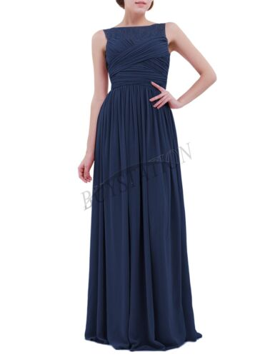Womens Evening Dresses Long Chiffon Bridesmaid Dress Prom//Ball Gowns Party Dresses