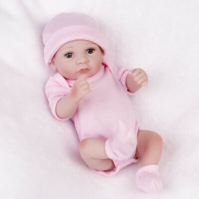"10"" Reborn Baby Dolls Handmade Girl Doll Open Eyes ..."