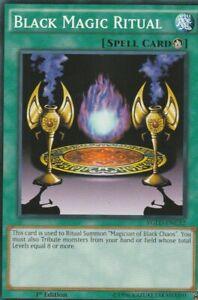 YUGIOH-CARD-BLACK-MAGIC-RITUAL-YGLD-ENC32-1ST-EDITION