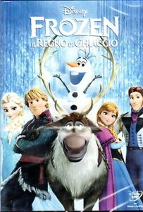 Frozen, Disney Dvd