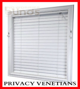 PRIVACY-Shutter-Blind-Venetian-Blinds-63mm-240-x-137-Econo-Wood-PVC-Timber-Look
