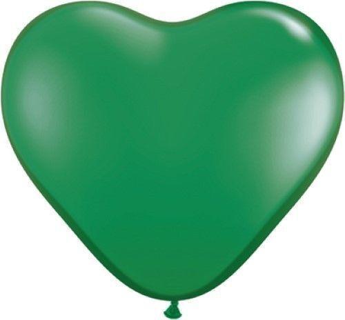 100 MIX LOVE HEART BALLOONS Wedding Party Romantic Valentines Birthday XMAS TIE