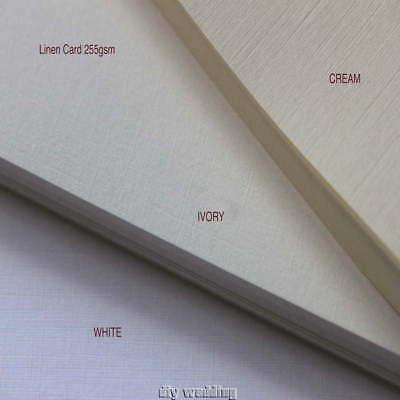 250 Fogli Di Carta A6 (stile Cartolina) - * Scelta Di Colori * Stampabile, Rsvp,- Design Professionale