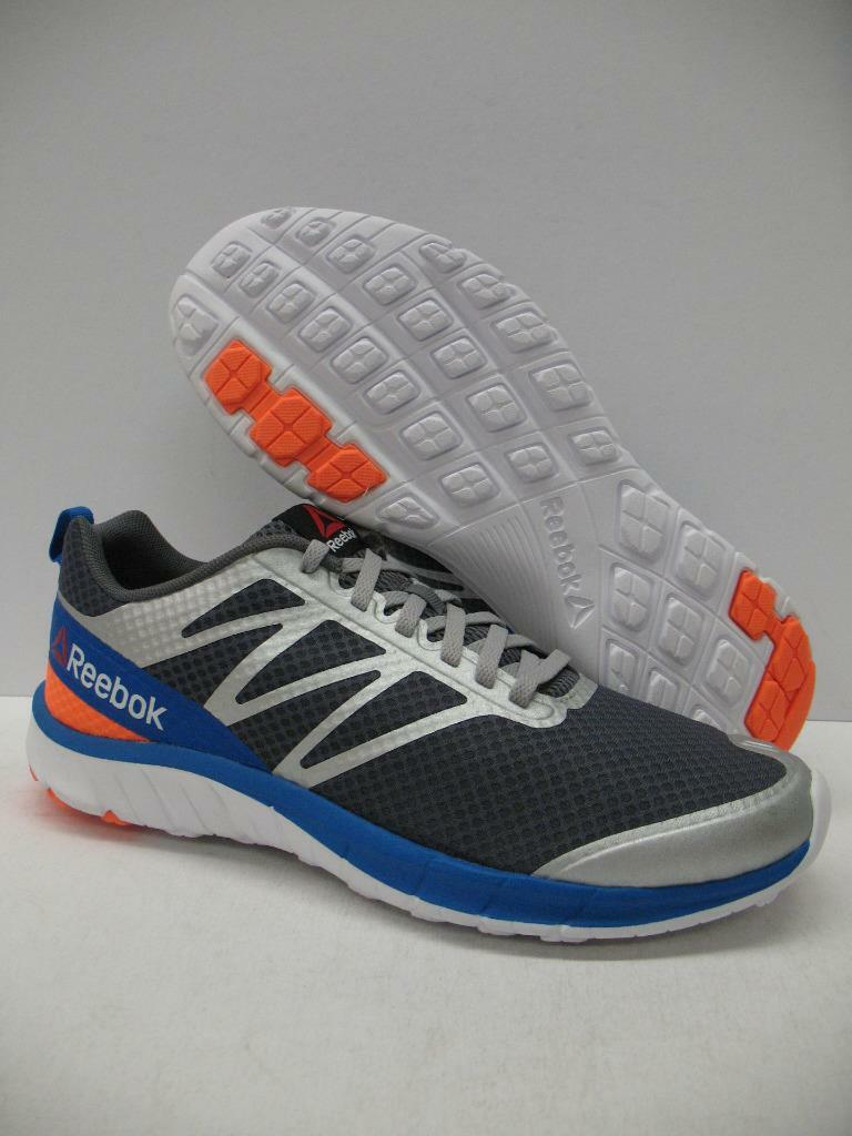 Reebok V68057 SoQuick Running Training Shoes Sneakers Gray Silver Mens 9.5