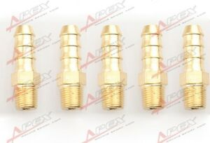 "3//8 Male Brass Hose Barbs Barb To 1//8/"" NPT Pipe Male Thread"