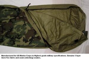 Image Is Loading Usmc Gore Tex Bivy Bivvy Bag Sleeping