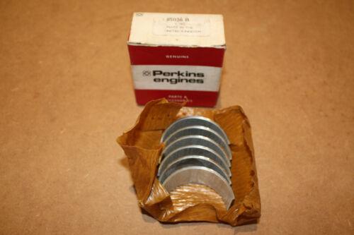 20 85036B Made in UK GENUINE PERKINS  3 Cylinder Diesel Conrod Bearing Set