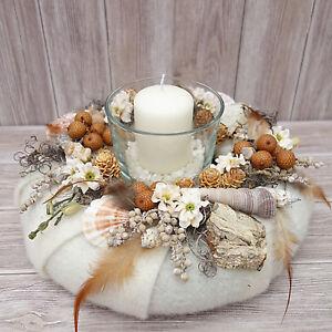 Dekoration Tisch.Details Zu Tischdeko Herbst Tisch Deko Herbstkranz Windlicht Herbst Deko Tisch Dekoration