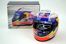 SIGNED 1/2 Scale Daniel Ricciardo Toro Rosso STR8 2013 Helmet F1 Red Bull Silver