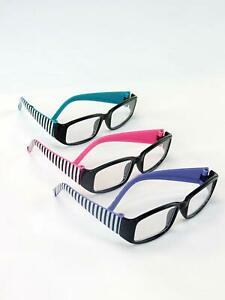 18-034-Doll-Clothes-fits-American-Girl-dolls-Striped-Glasses-3-Colors-Available