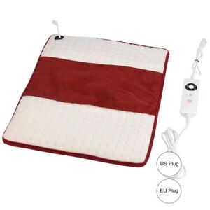 Details about Multifunctional Electric Heating Therapy Pad Washable Back  Pain Relief Mat GD