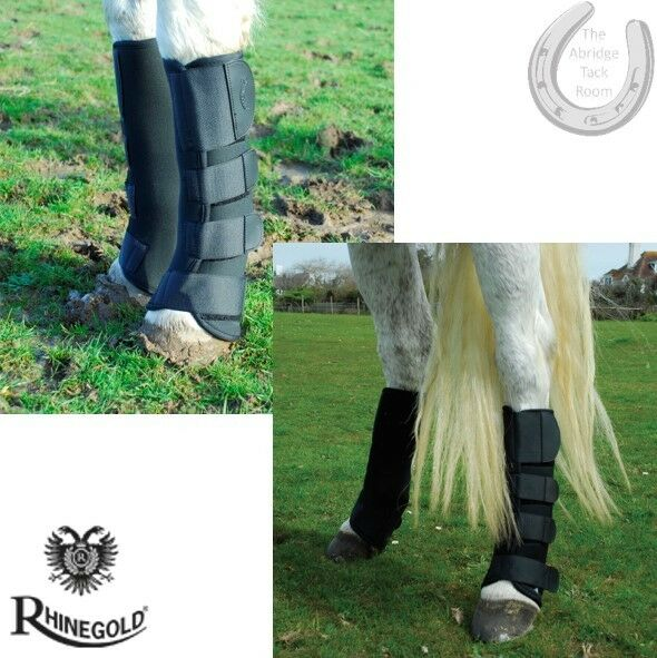 Rhinegold Breathable Neoprene Turnout Boots – Mud Fever Defence – Ventilated