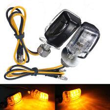 2 X Bombilla Luz Indicador Intermitente 6 LED Universal para Moto Motocicleta