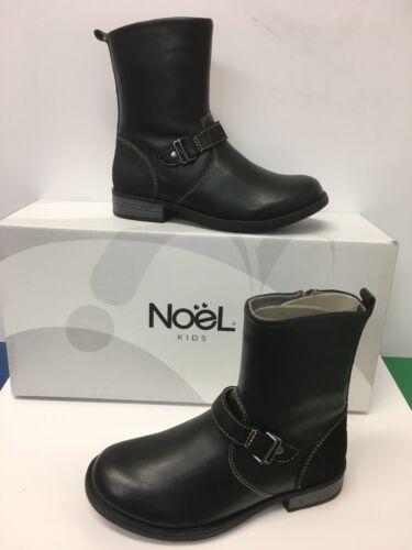 Noel /'Fidji/' Classic Ankle Boots in Black  with Zip fastening