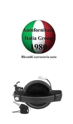 MANIGLIA PORTA POSTERIORE EST NERA C//CHIAVE FIAT DOBLO 00/>10 2000/>2010