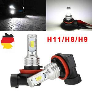 NOVSIGHT-H11-H8-H9-H16-LED-Nebel-Scheinwerfer-Lampen-Birnen-Fog-Ligcht-Weiss-DE