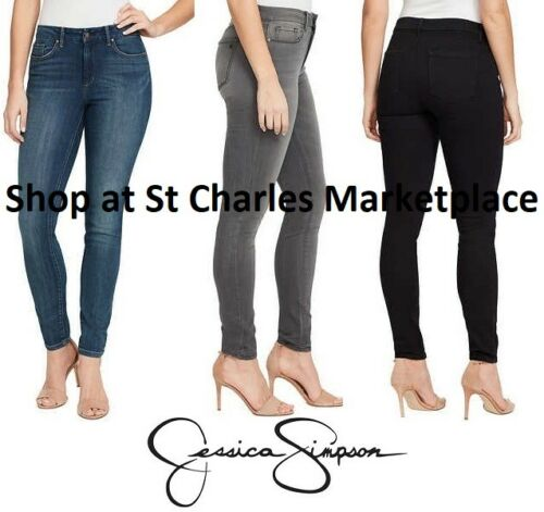 NWT Jessica Simpson Ladies/' High-Rise Skinny Jean Jeans SELECT COLOR // SIZE