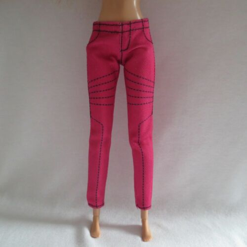 NEW Barbie Style Glam Luxe Doll Bright Pink /& Black Pants ~ Clothing