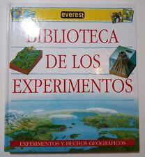 Biblioteca de los experimentos y hechos geograficos edi Everest 2007