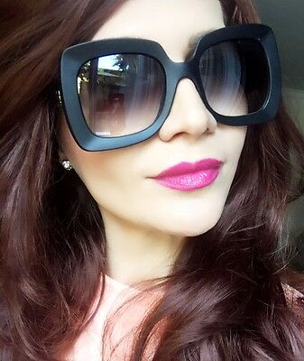 Oversized Big Large OMG Square Designer Butterfly Pinch Me Women Hot Sunglasses