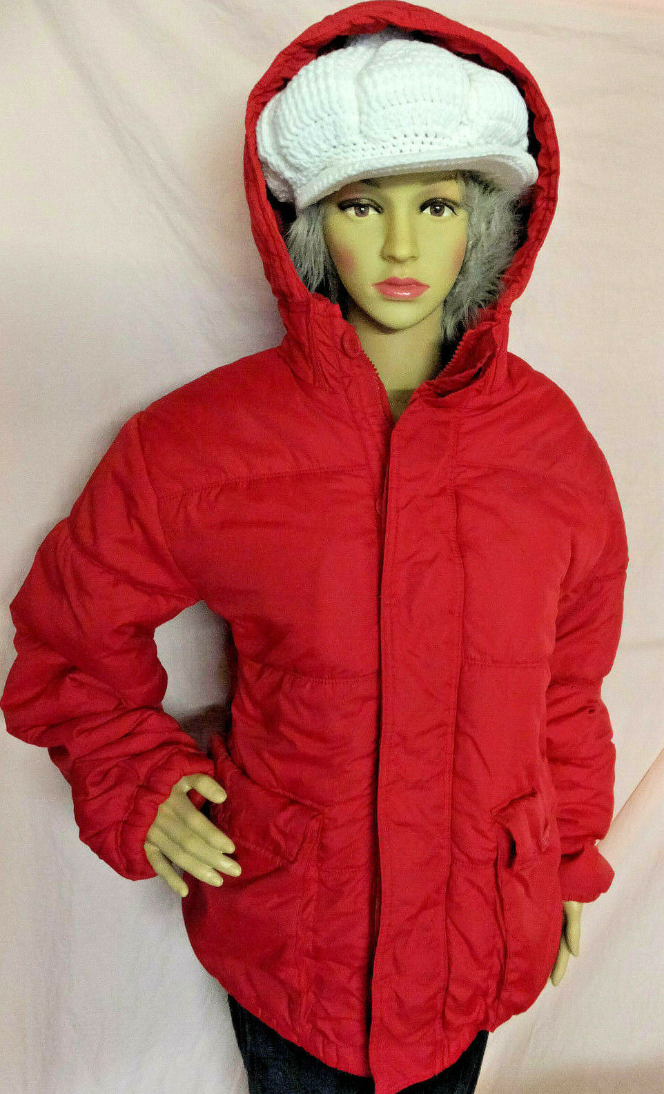 Aeropostale Womens Coat Winter Hooded with Button's Button's Button's and Zipper Aeropostale coats 1da0e1