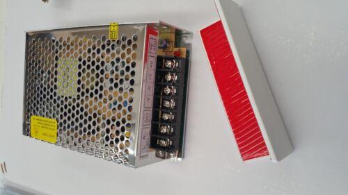 100W 240v Driver 3M tape. 72w per roll Warm White LED Strip Lighting 5m Kit