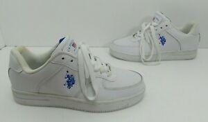 Men's US Polo Assn Sneaker White Size 8 M